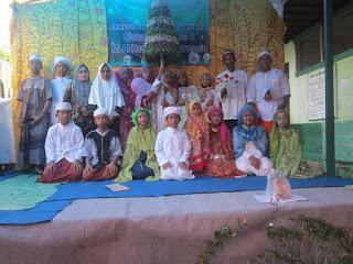 Khataman Al Qur'an Siswa kelas 6 mi al raudlah