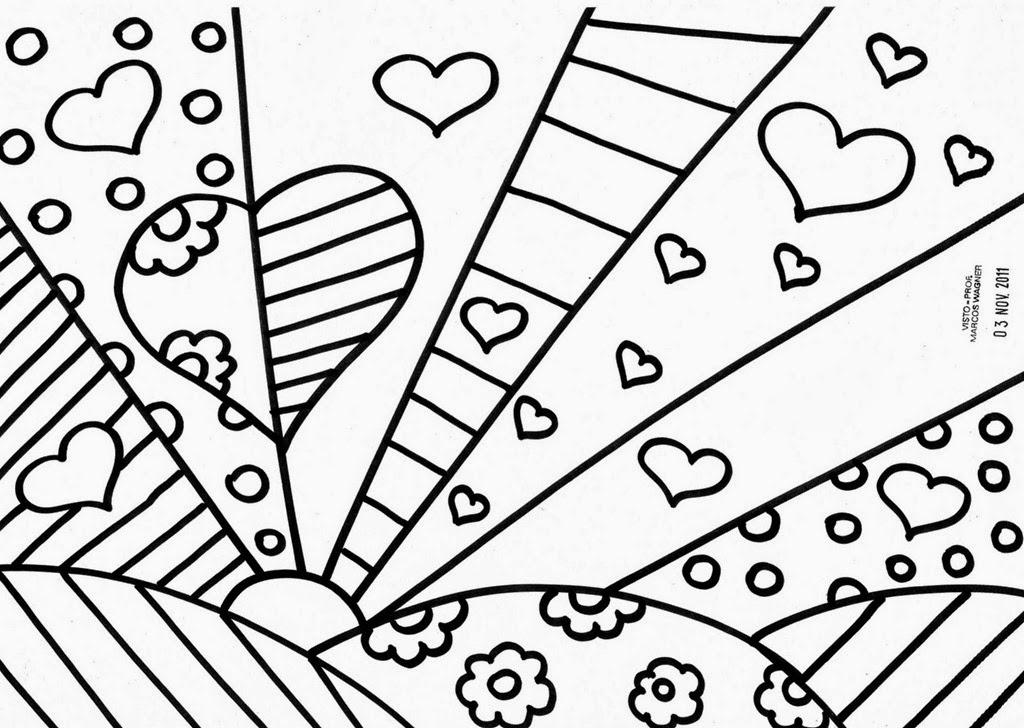 Desenhos Abstratos Para Colorir
