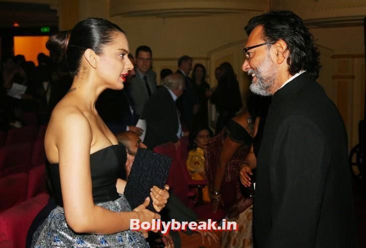 Kangana Ranaut and Rakeysh Omprakash Mehra, Kangana Ranaut & Amitabh Bachchan at the Indian Film Festival of Melbourne Awards
