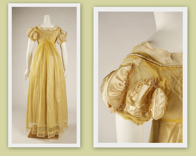 Feminine Fashion - Regency Period