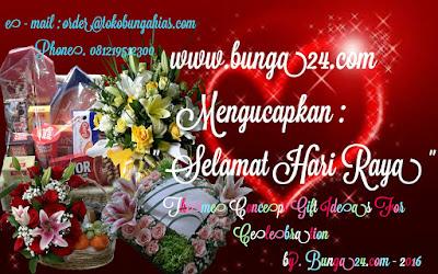 Selamat Hari Raya Bunga Rangkaian