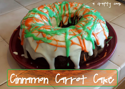 A Crafty Cook: Cinnamon Carrot Cake