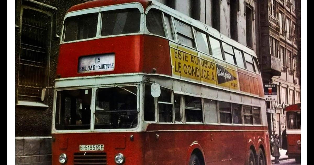 El mareometro blog los autobuses de dos pisos de la linea bilbao santurce - Autobuses de dos pisos ...
