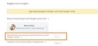 Cara Share Otomatis Artikel Ke Google Plus