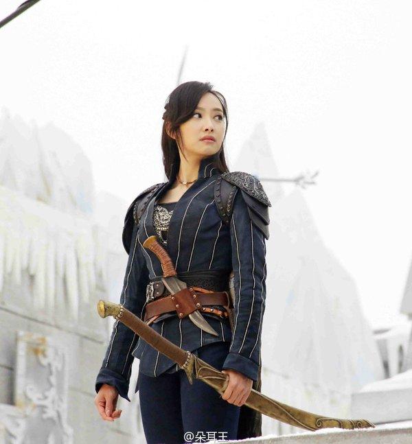 Victoria Is A Pretty Warrior For Ice Fantasy