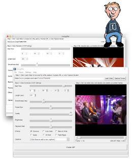 برنامج Instagiffer 1.64 عمل صورة متحركة GIF من الفيديو