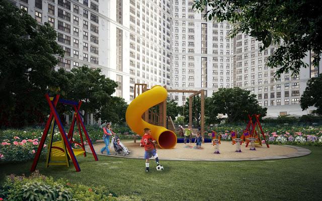 Không gian vui chơi dành cho trẻ em The Emerald