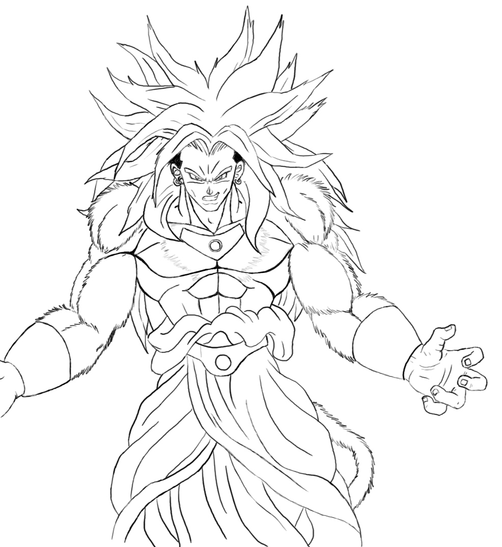 Desenhos Para Desenhar Dragon Ball Z