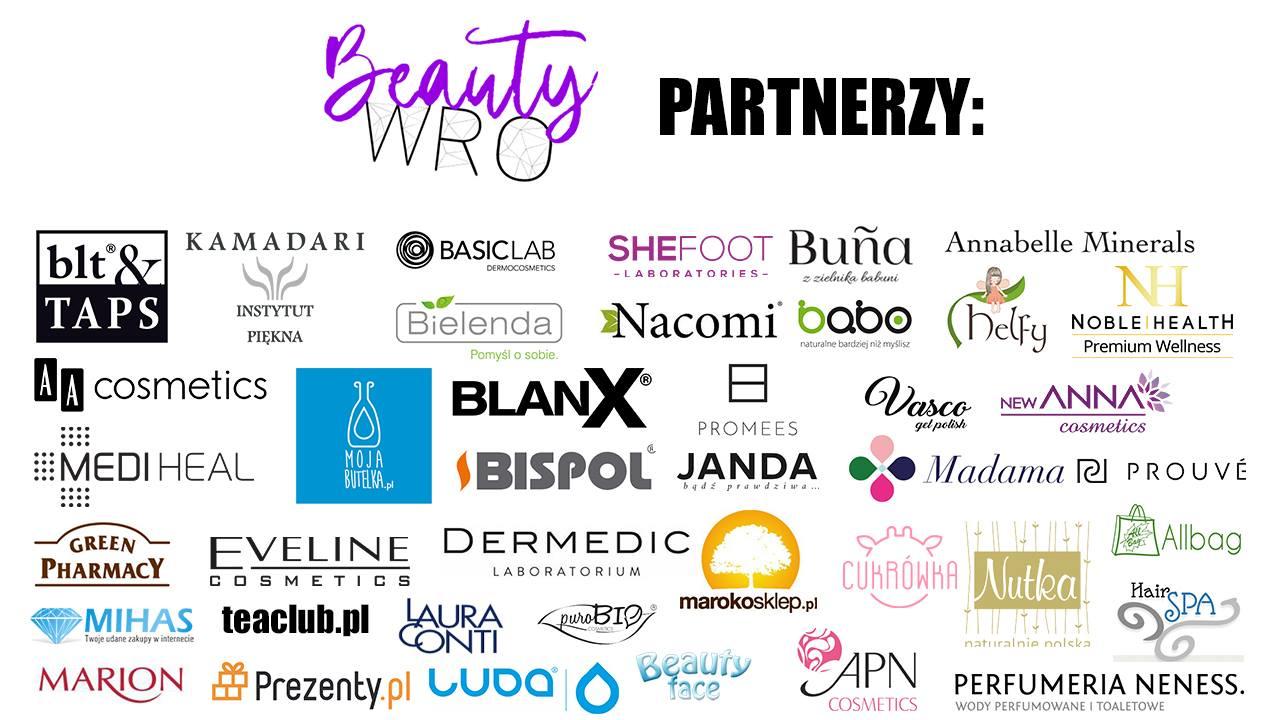 Sponsorzy BeautyWRO Wrocław 2018