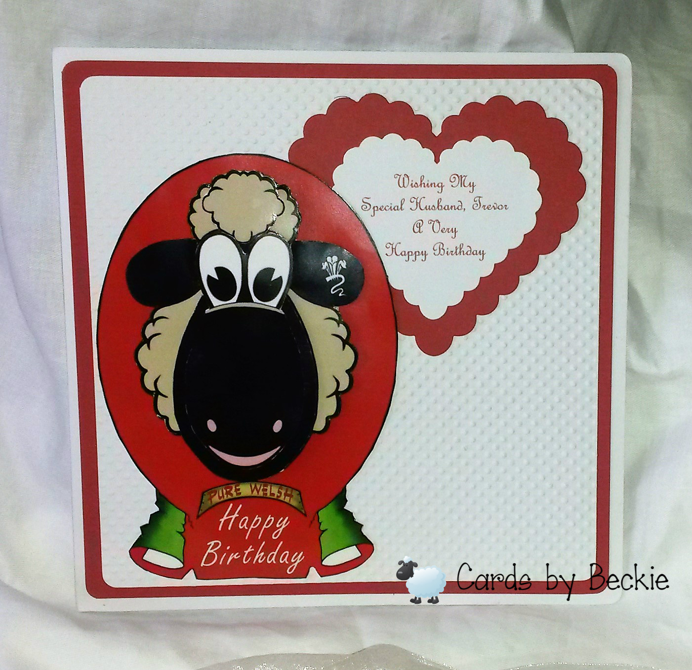 Cards Made By Beckie: Husband Birthday Card