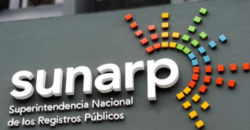 SUNARP atiende todos los sábados a nivel nacional - www.sunarp.gob.pe