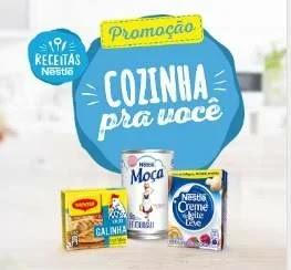 Cadastrar Nova Promoção Nestlé Cozinha Pra Você - 3 Cozinhas Completas Prêmios