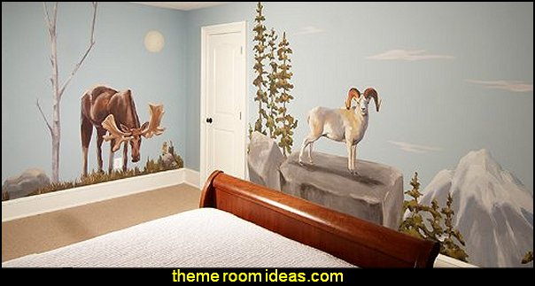 Wild Alaska  Alaskan Animal  wall - decorative snowflakes  Frozen Elsa Peel and Stick Giant Wall Decals    penguin bedrooms - polar bear bedrooms - arctic theme bedrooms - winter wonderland theme bedrooms - snow theme decorating ideas - penguin duvet covers - penguin bedding - winter wonderland party ideas - Christmas