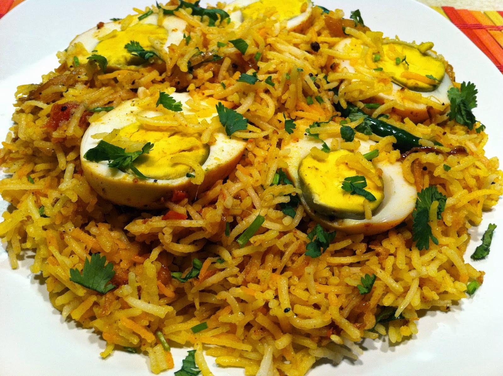 Egg pulav recipe