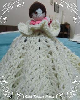free crochet pattern, free crochet baby snuggle pattern, Free princess amigurumi stuff toy pattern