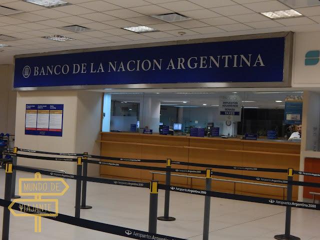 Banco de La Nación Argentina no aeroporto de Buenos Aires