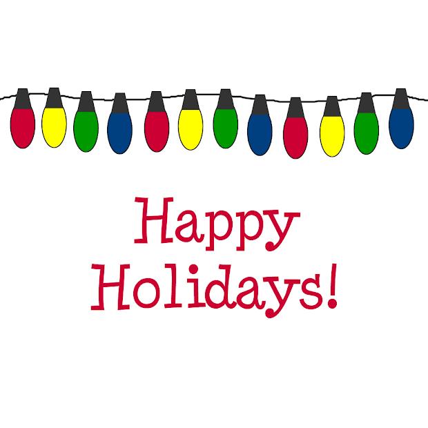 free clipart happy holidays