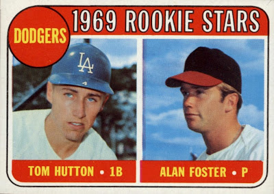 Rating The Rookies 1969 Topps Dodgers Rookie Stars Tom
