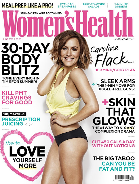 TV And Radio Presenter, @ Caroline Flack - Women's Health Magazine June 2016