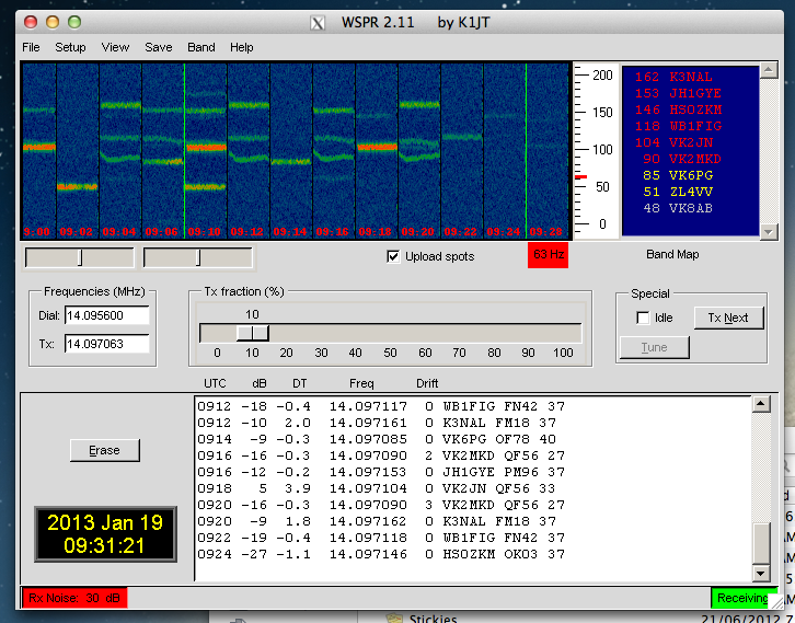 marxy's musing on technology: Ham radio software on MacOS