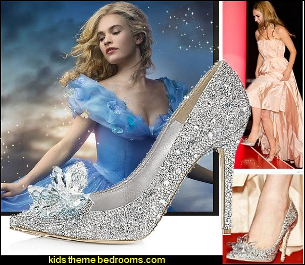 Cinderella Movie 2015 The Glass Slipper Princess Crystal Shoes