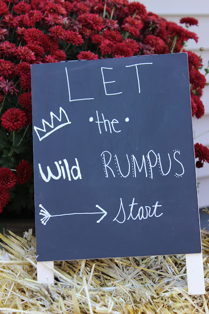 let the wild rumpus start wild one first birthday