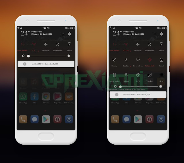 Download Tema Xiaomi Emuios Red Mtz Full Tema Terkeren
