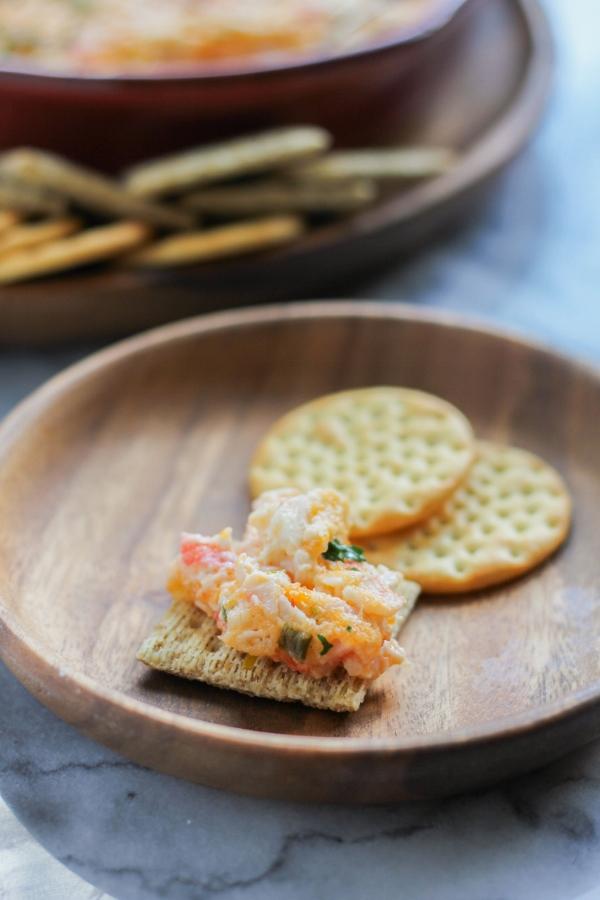 Spicy Hot Crab Dip | The Chef Next Door