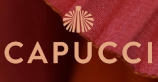 The logo of today's Capucci fashion house