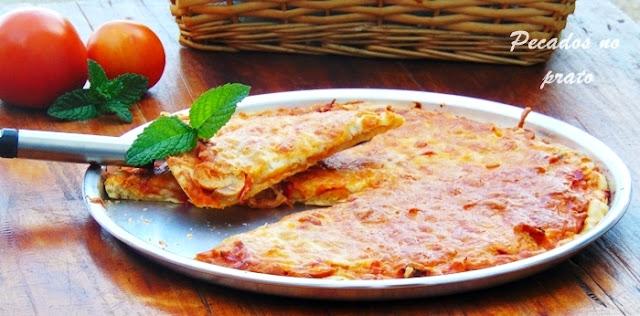 Pizza caseira fácil