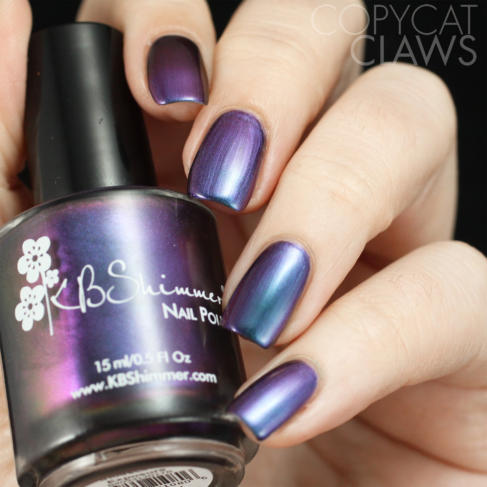 Copycat Claws: KBShimmer Multi Chrome Collection Swatches and Review