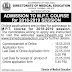 Tamilnadu MPT Courses Admission Notification 2018-2019