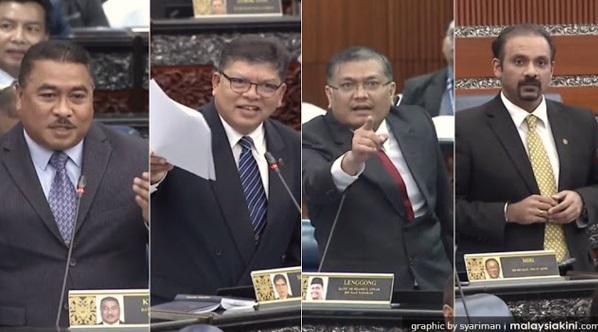 Sungguh Memalukan, Lihatlah Sendiri Aksi MP BN Dalam Dewan Rakyat.. Rakyat Menilai..