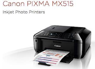 Canon PIXMA MX515 Driver Download free