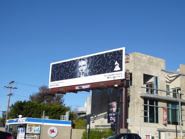David Bowie 59th Grammys billboard