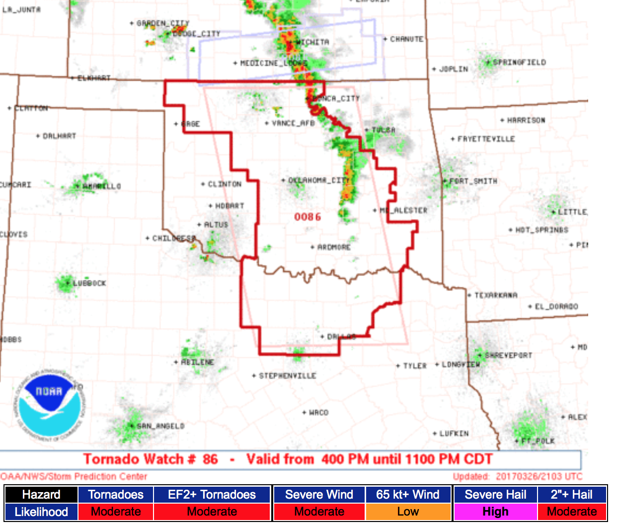 Map Of North Texas And Oklahoma.Mse Creative Consulting Blog Tornado Watch Just Issued For Oklahoma