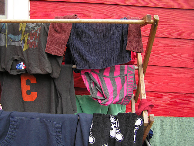 how to dry laundry