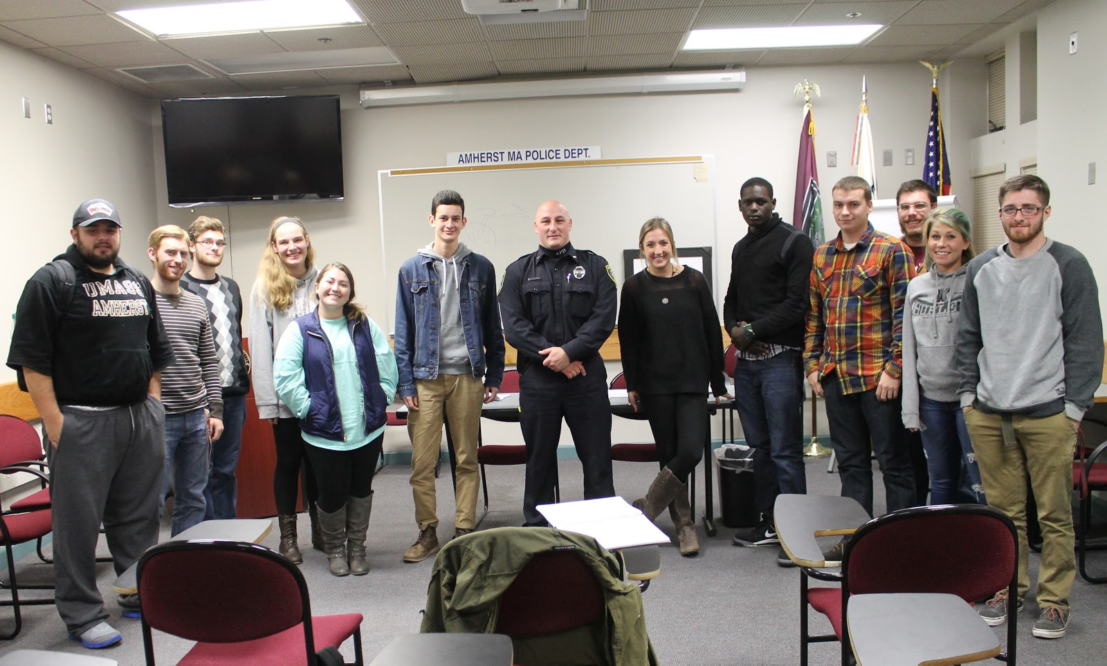 Journ 300 A Umass Journalism Newswriting And Reporting Blog Visit With Amherst Pd Det Jamie