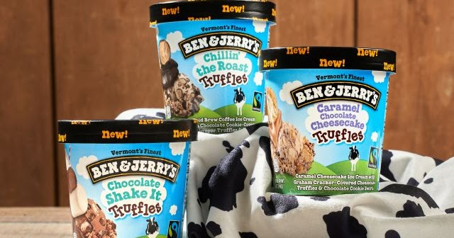 Ben Amp Jerry S Launches New Truffle Inspired Ice Cream Plus