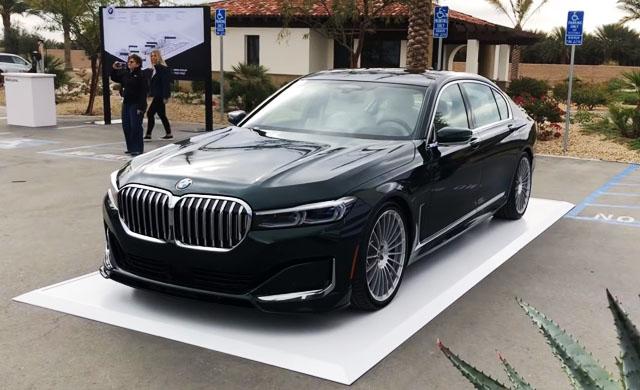 Miliki Sedan Tercepat di Dunia, BMW Alpina B7