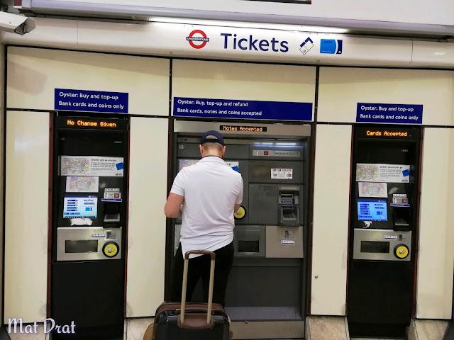 Percutian London Transport Airport