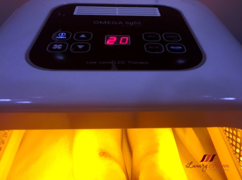 eha clinic omega light therapy scar treatment