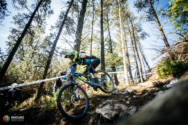 2016 Enduro World Series: Emerald Enduro, Wicklow, Ireland Highlights - Anneke Beerten