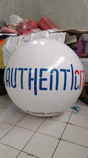 balon bulat aneka bentuk dan ukuran