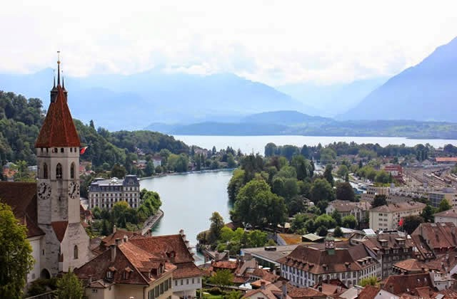 Thun Switzerland Suiza