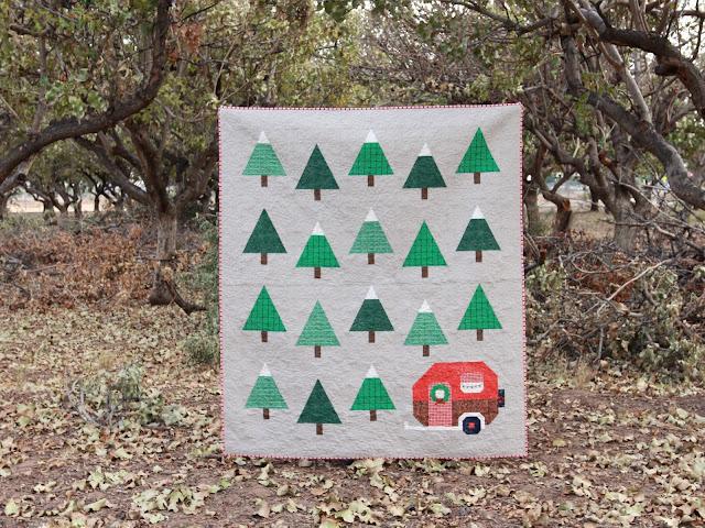 Pen Paper Patterns Christmas Up North Quilt Plus