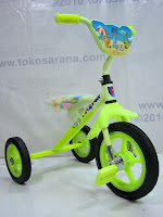 Arava BMX Tricycle in Yellow