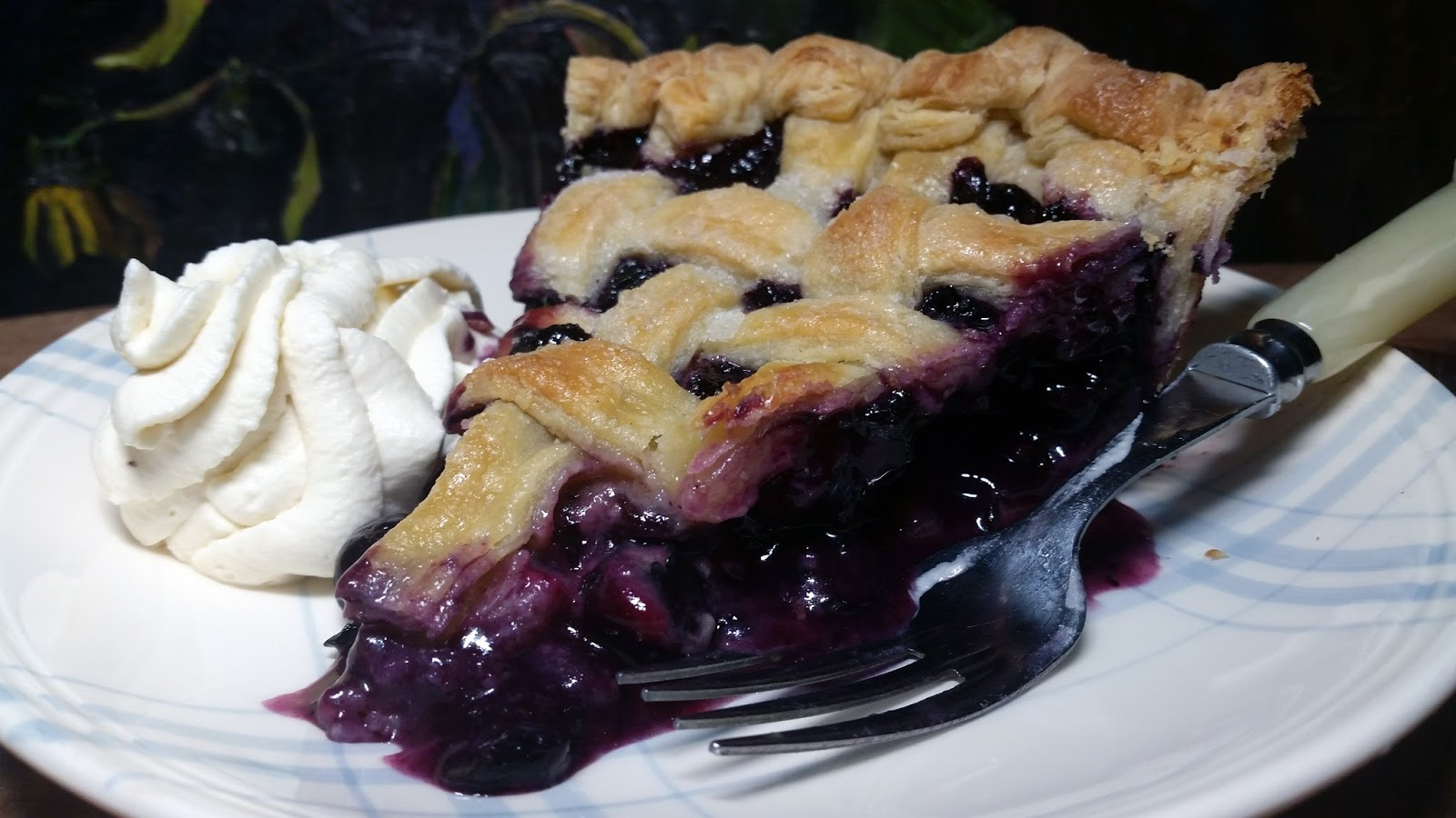 Thibeault39s Table Blueberry Pie First Blueberries of