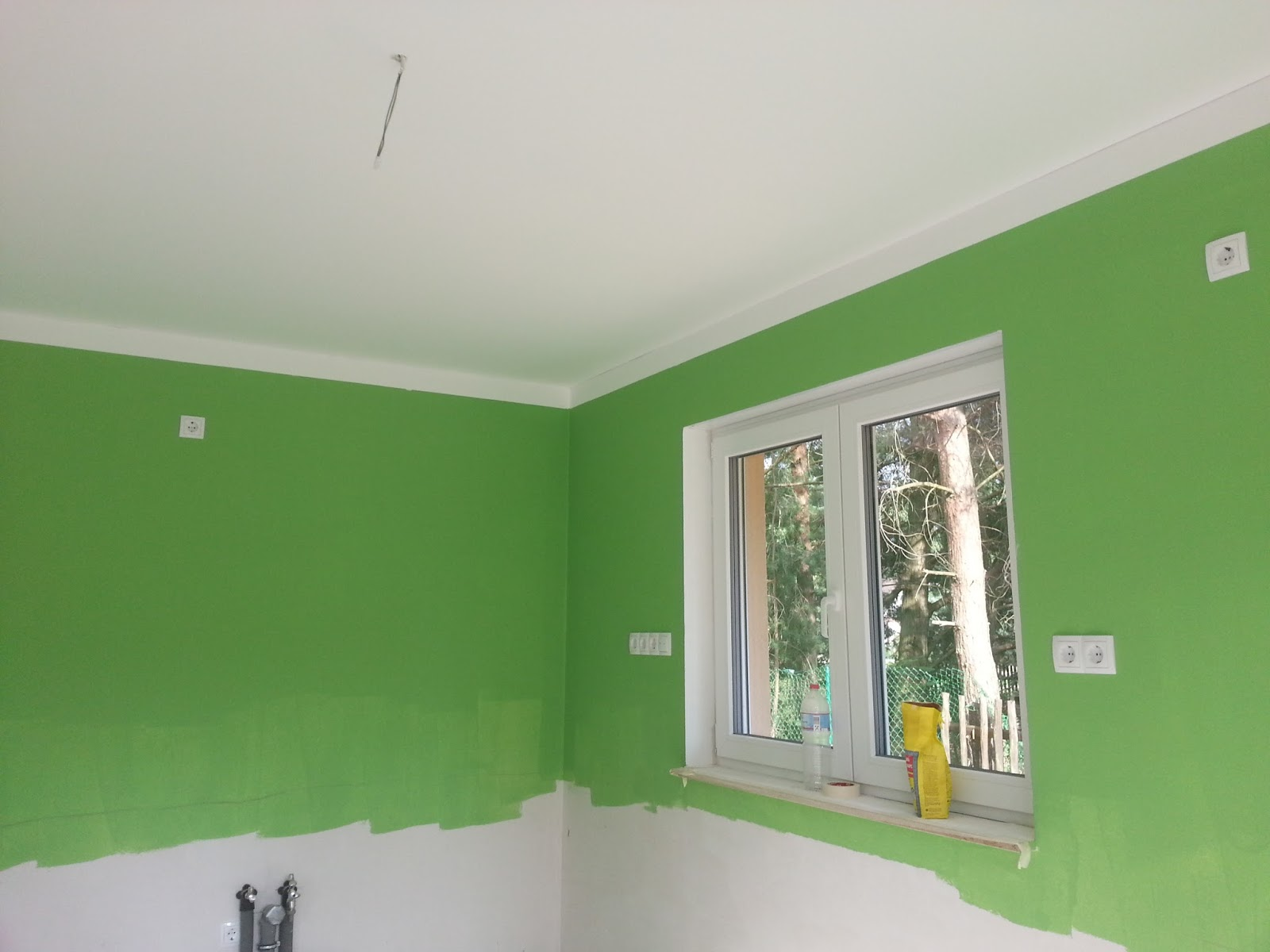 aileen und patrick bauen malerarbeiten fast fertig. Black Bedroom Furniture Sets. Home Design Ideas