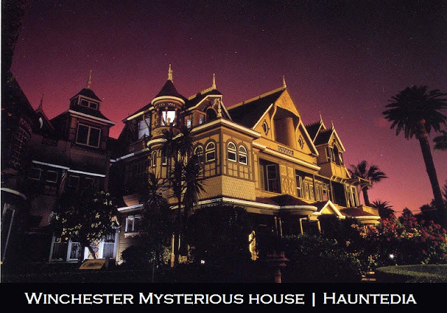 Winchester mystery house is one of the 5 most haunted places in San Francisco